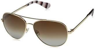 Kate Spade Womens Avaline 2/S Gold Havana/Brown Gradient Mirror One Size One
