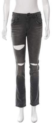 R 13 Skate Straight-Leg Jeans