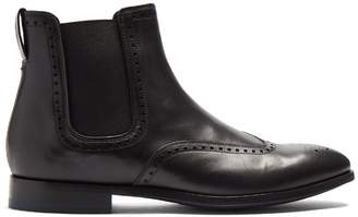 Paul Smith Bedford leather chelsea boots