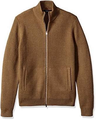 Theory Men's Rovira Full Zip Wool Sweater