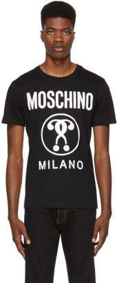 Moschino Black Milano Logo T-Shirt