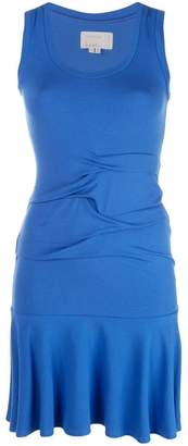 Nicole Miller ruched detail sweater dress