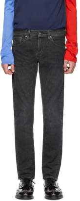 Levi's Levis Made And Crafted Levis Made and Crafted Black Selvedge 511 Slim Jeans