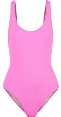 Solid & Striped The Anne-Marie Neon Swimsuit