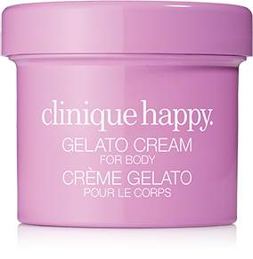 Clinique Travel Size HappyTM Gelato Cream for Body - Berry Blush