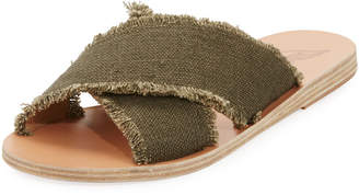 Ancient Greek Sandals Thais Crisscross Sandals, Khaki