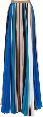 Prabal Gurung Pleated Maxi Skirt
