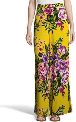 5twelve Floral Woven Wide-Leg Pants
