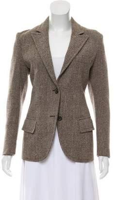Prada Textured Wool Blazer