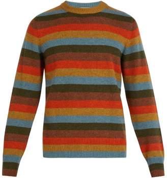 Bottega Veneta Striped Cashmere Blend Sweater - Mens - Multi