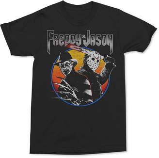 Freddy Changes Men's vs Jason Graphic T-Shirt