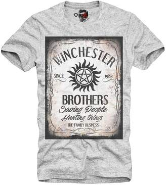 SAM. E1syndicate T-Shirt Supernatural Dean Family Business Breaking Bad Grey S/M/L/Xl