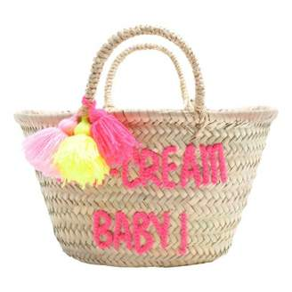 Rose in April Embroidered Ice cream baby Basket