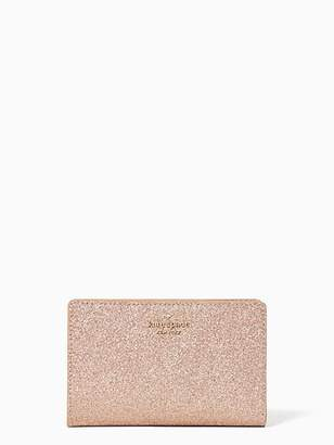 Kate Spade Joeley Medium Bifold Wallet, Rose Gold