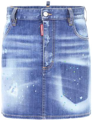 DSQUARED2 Denim Mini Skirt