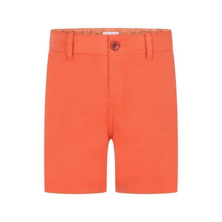 JuniorBoys Orange Rick Shorts