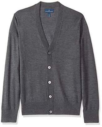 Buttoned Down Men's Italian Merino Wool Cardigan X-Large