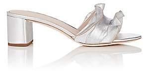 Loeffler Randall Women's Vera Leather Mules - Silver