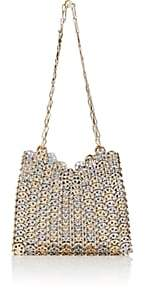 Paco Rabanne Women's Iconic Chain-Mail Shoulder Bag-Silver