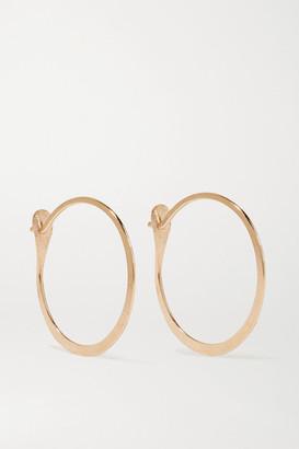 Melissa Joy Manning 14 Karat Gold Hoop Earrings One Size
