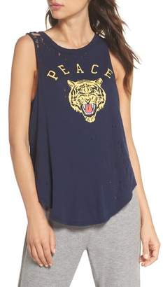 Chaser Distressed Muscle Tank