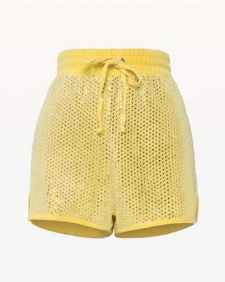 Juicy Couture Swarovski Embellished Velour Short