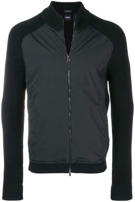 HUGO BOSS zip-up cardigan