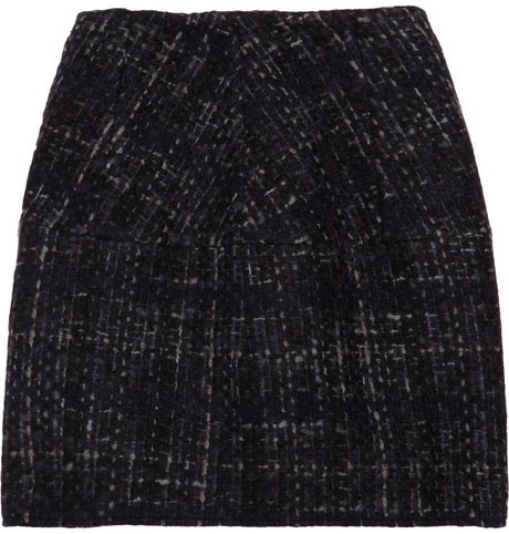 Marni Structured tweed skirt