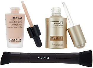 Algenist Anti-Aging MicroAlgae Oil & Foundationwith Brush