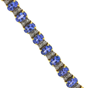 One Kings Lane Vintage Le Vian 14K Gold - Tanzanite & Diamond - BRP Luxury/OKL