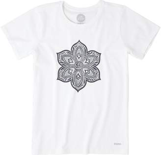 Life is Good Women's Crusher Primal Flower Tee