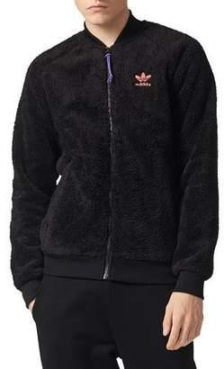 adidas Fleece Zip-Front Jacket