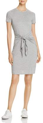 Three Dots Jersey Tie-Front Dress