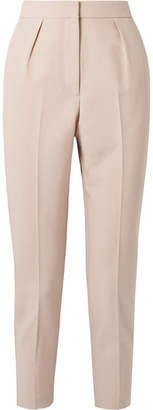Theory City Twill Straight-leg Pants - Pastel pink