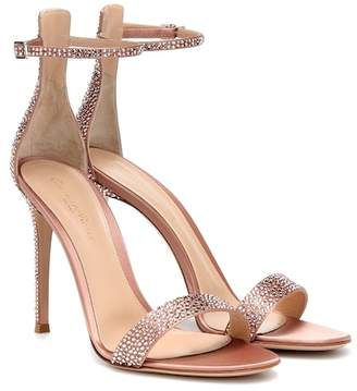 Gianvito Rossi Glam crystal-embellished sandals