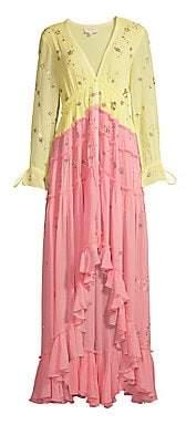 Rococo Sand Women's V-Neck Ruffle Dress