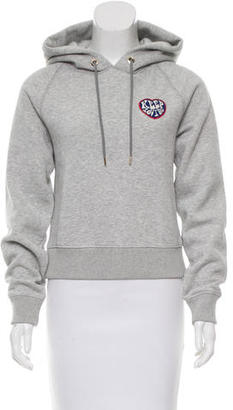 Tommy Hilfiger Embroidered Hooded Sweatshirt $75 thestylecure.com