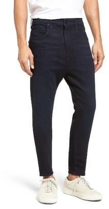 Men's Vince Drop Crotch Skinny Slouchy Leg Jeans $225 thestylecure.com