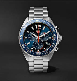 Tag Heuer Formula 1 Chronograph Quartz 43mm Stainless Steel Watch