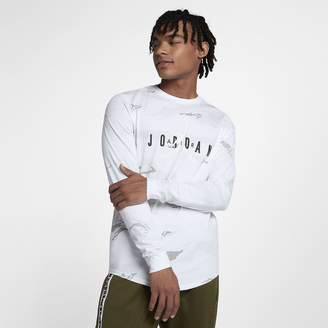 Jordan Sportswear Tech Men's Graphic Long-Sleeve T-Shirt