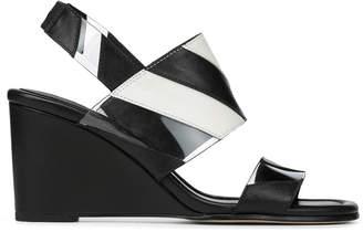 Donald J Pliner LEVIE, Calf Leather Wedge Sandal