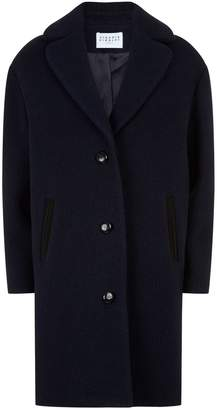 Claudie Pierlot Boucle Wool Coat