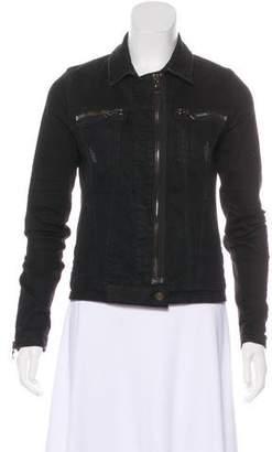 RtA Denim Distressed Denim Jacket