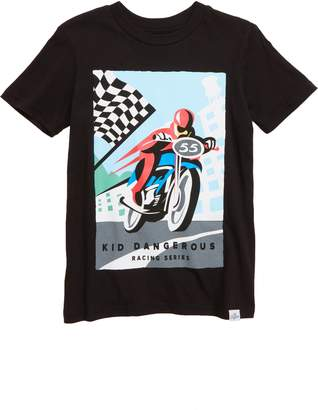 Kid Dangerous Vintage Motocross T-Shirt