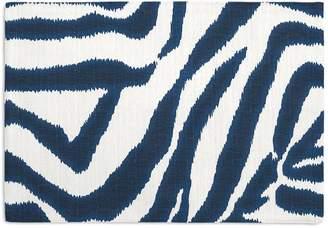 Loom Decor Placemats, Set of 4 Zebra Ikat - Marina