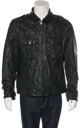 AllSaints Shift Leather Jacket