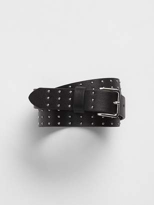 Gap Studded Skinny Belt