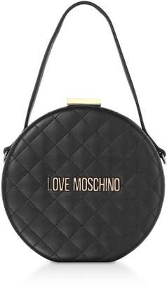 7f94c2d082a03 Love Moschino Black Metallic Leather Handbags - ShopStyle