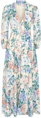 Zimmermann Floral Verity Maxi Dress