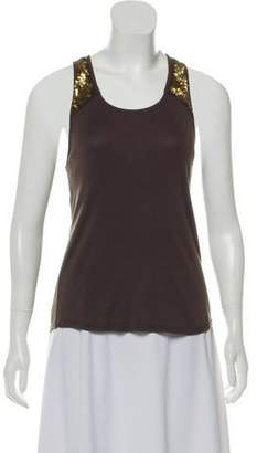 Chloé Embellished Tank Top